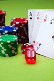 Casino concept Stock Photography