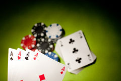 Casino concept Royalty Free Stock Photos