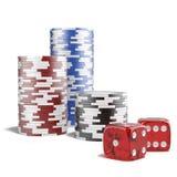 Casino concept Royalty Free Stock Photo