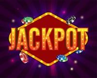 Casino concept background with Jackpot. Casino concept background with Jackpot and Coins vector illustration