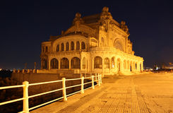 Casino in Constanta (Romania) by night Royalty Free Stock Images