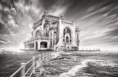 Casino in constanta, romania. Picture of the old casino in constanta royalty free stock photos