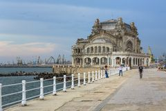 Casino of Constanta, Romania Stock Images