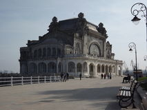 Casino Constanta. Casino of Constanta viewed in a clear day royalty free stock photo