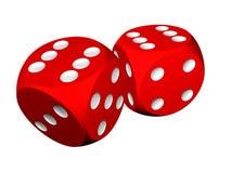 Casino craps Royalty Free Stock Images