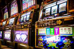 Casino on Cruiseship Royalty Free Stock Photo