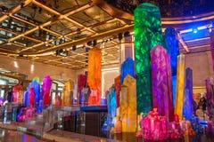 Casino Crystal Palace da galáxia de Macau Imagens de Stock