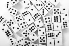 casino cubes background Stock Images
