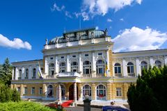 Casino Cultural and Conference Centre in Marianske Lazne - Czech Republic stock images
