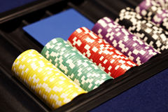 Casino currency Stock Photos
