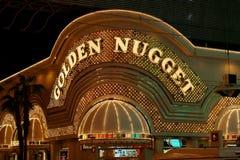 Casino d'or de pépite photo stock