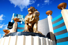 Casino d'hôtel de Mgm Grand, Las Vegas Images libres de droits