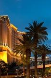 Casino d'hôtel de ressource de Palazzo Image stock