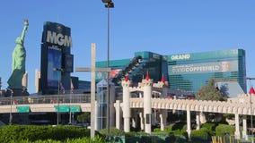 Casino d'hôtel de Mgm Grand de bande de Las Vegas clips vidéos