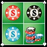 Casino da microplaqueta Ilustração do Vetor