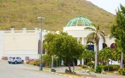Casino dans le croix de St nous les Îles Vierges Image stock