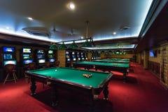 Casino dans un de la pièce de monnaie sibérienne de jeu de zone Altaiskiy Krai La Sibérie occidentale Russie images stock