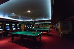 Casino dans un de la pièce de monnaie sibérienne de jeu de zone Altaiskiy Krai La Sibérie occidentale Russie photos stock