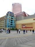 Casino de Ballys - promenade d'Atlantic City Image stock