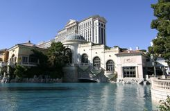Casino de Caesars Palace - Las Vegas Photographie stock libre de droits