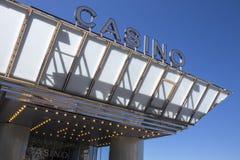 Casino de Cannes - dAzur da costa - sul de France fotografia de stock royalty free