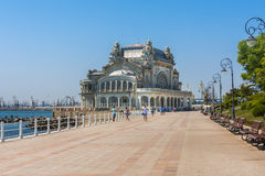 Casino de Constanta, Roumanie Images stock