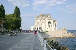 Casino de Constanta, Rumania Imagenes de archivo
