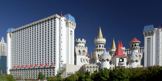 Casino de Excalibur - Las Vegas - Nevada - los E.E.U.U. Imágenes de archivo libres de regalías