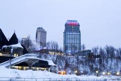 Casino de Fallsview et centre d'accueil Images libres de droits
