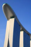 Casino de la arena del oro, Singapur Foto de archivo