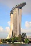 Casino de la arena del oro, Singapur Fotografía de archivo libre de regalías