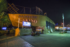 Casino de la bahía de Naama imagen de archivo