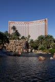 Casino de la isla del tesoro, Las Vegas Imagen de archivo libre de regalías