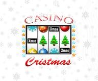 Casino de la Navidad Fotografía de archivo