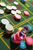 Casino de la ruleta fotografía de archivo libre de regalías