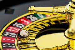 Casino de la ruleta que juega Fotografía de archivo