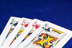 Casino de la tarjeta imagen de archivo