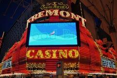 Casino de Las Vegas Fremont Imagen de archivo libre de regalías