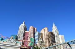 Casino de Las Vegas Nueva York Nueva York Foto de archivo