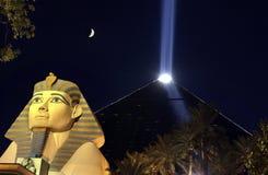 Casino de Luxor - Las Vegas - Nevada - los E.E.U.U. Fotos de archivo