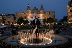Casino de Monte Carlo Foto de archivo libre de regalías