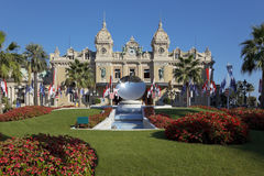 Casino de Monte Carlo au Monaco Image libre de droits