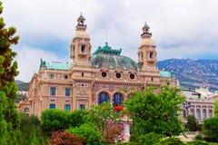 Casino de Monte Carlo en Mónaco imagen de archivo libre de regalías