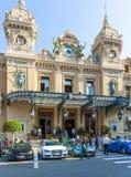 Casino de Monte Carlo en Mónaco Imágenes de archivo libres de regalías