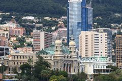 Monte Carlo Casino, Monaco City Royalty Free Stock Photos