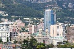 Monte Carlo Casino in Monaco City Royalty Free Stock Photos