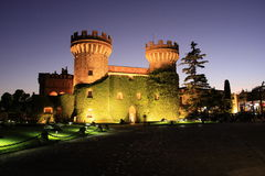 Casino de Peralada. Image of Gran Casino de Peralada Castle royalty free stock photo