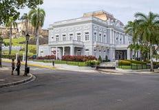 Casino De Porto Rico d'Antiguo Photos libres de droits