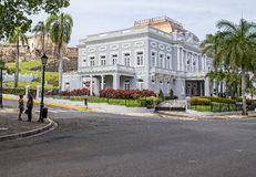 Casino de Porto Rico de Antiguo Fotos de Stock Royalty Free
