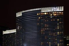Casino de ressource d'aria de Las Vegas photos libres de droits